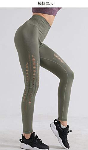 B H Ideal para Danza Correr Trotar Ejercicio,Mujeres Levante los Pantalones Control,Alta Pilates Fitness Mujer Gym Yoga Pantalon