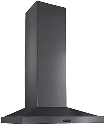 Amazon Com Broan Nutone Ew5430bls Elite Range Hood 30 Inch Black Stainless Steel Home Improvement