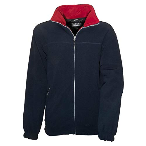 Blue-Wave Knut Windstopper Herren Fleecejacke, Navy, 3XL