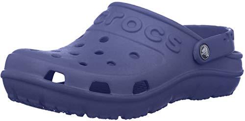 Crocs Hilo Clog K, Zuecos Unisex Niños, Azul (Bijou Blue), 19/20 EU