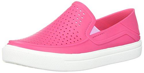 Crocs Unisex-Kinder Citilane Roka K Turnschuh, Paradise Pink/White, 28 M EU Kleines