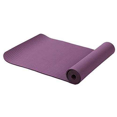 Schneespitze Estera de Yoga Material Ligero Estera de Yoga Antideslizante Estera de Piso de Fitness sin Perfume