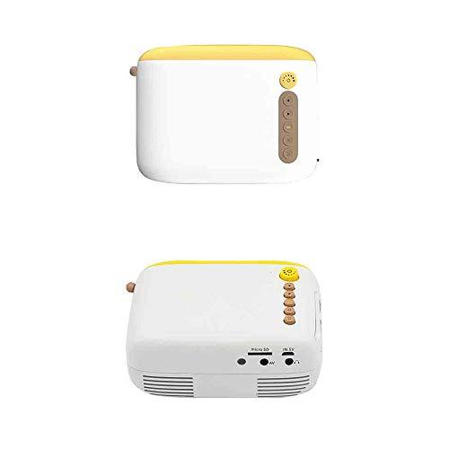 Mini-beamer, draagbaar, voor iPhone, Android, smartphone, ondersteunt HDMI/USB/PC/PS4/Xbox
