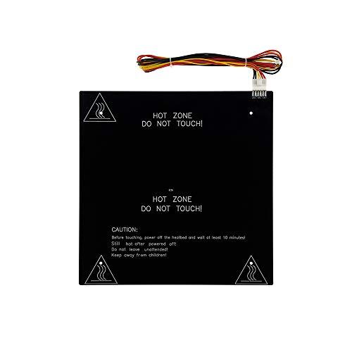 310x310mm CR10 alluminio HeatBed 24V Hotbed 3mm spessore letto riscaldato w/fori per Creality CR-10 stampante 3D con kit di alimentazione