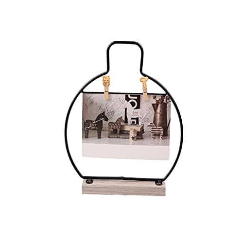 marco de la foto Marco de la foto del clip, marco nórdico de la imagen creativa simple tridimensional tridimensional fotográfico marco de fotos de configuración de decoración adornos de regalo decorac