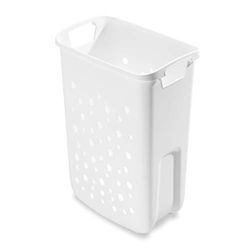 Hailo 1126889 Wäschebehälter 33 Liter weiß für Laundry Carrier/TIDY Wäschebehälterauszüge/Ersatz - Wäschekorb