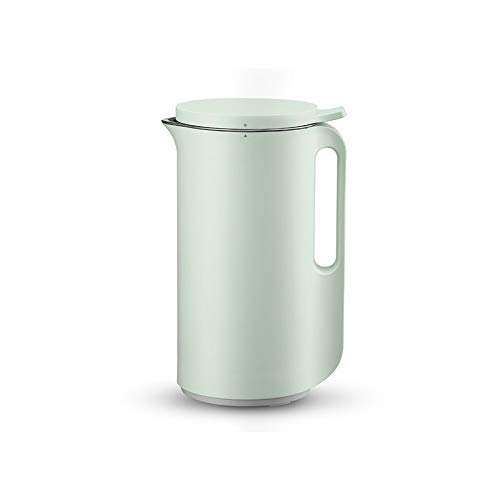 BGSFF Multifunktionsautomatik Mini-Elektroheizung SOYA-Bohnenmilchsaftpresse Reispastenhersteller Filterfrei 350 ml (Farbe: Grün) umrühren