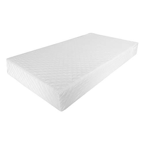 Colchón para Cuna 70x130cm. Funda capitonada con cierre removible y lavable. Relleno espuma Polyfoam....