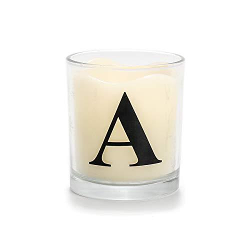 VISCIO TRADING Bougie parfum/ée /à la vanille en verre avec couvercle Cm7Xh10