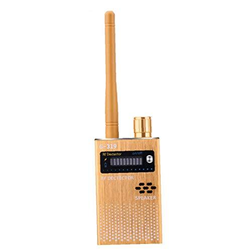 Uayasily Detector de señal inalámbrica Rastreador de señal para Eavesdropping cámara estenopeica G319 Anti espía Detector Escucha de Dispositivos Accesorios para impresoras Buscador 3D