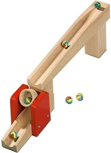 Haba Tilting Bucket - Marble Ball Track Accessory (Made in Germany) by