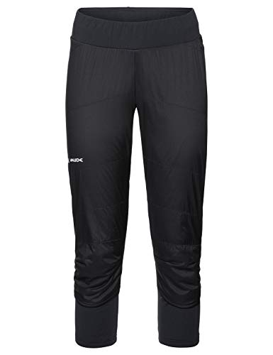 VAUDE Back Bowl Warme Pantalon Femme, Black, FR : S (Taille Fabricant : 38)