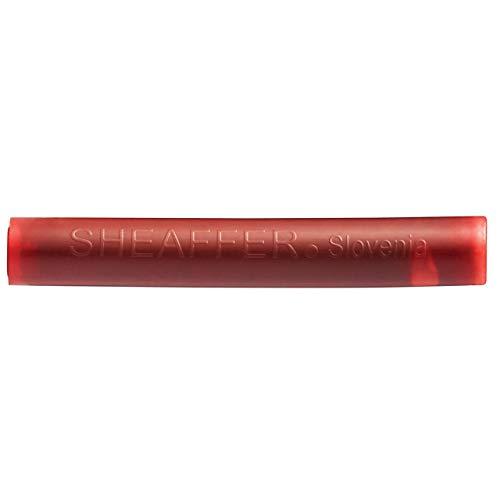 Sheaffer Classic - Cartuchos de tinta de recambio para pluma estilográfica, color rojo