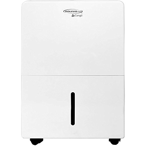 Soleus Air DS1-30-01 30 Pt. Portable Dehumidifier, Pint, White
