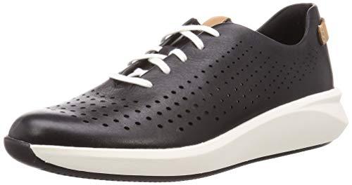 Zapatillas deportivas Clarks Un Rio Tie, para mujer, color Negro, talla 40 EU