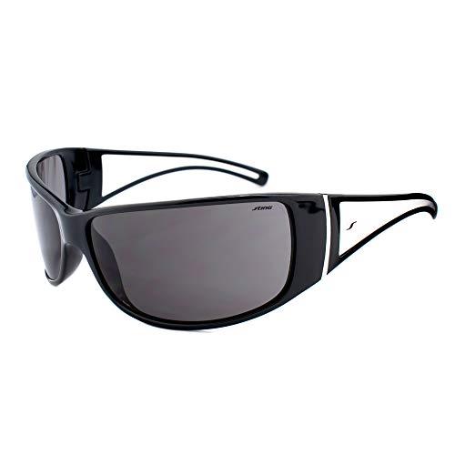 Sting Unisex Sonnenbrille SS6300-0Z42, Schwarz, 95/15/105