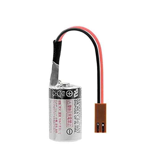 TTCPUYSA Batería De Iones De Litio De 3.6v 1000mah ER3V, Celda De Repuesto con Enchufe para Medidor De Agua De AmperíMetro 1pcs