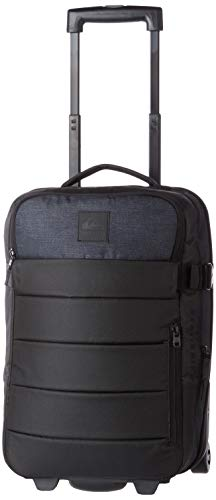Quiksilver Men's New Horizon Luggage Duffel Bags, Black, One Size