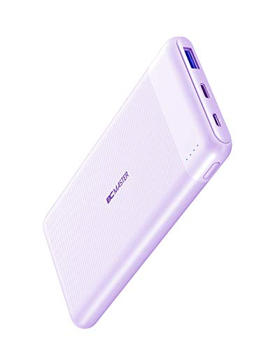 AUKEY USB C Power Bank, 10000mAh Portable Charger with 18W PD & Quick Charge 3.0, Battery Pack Compatible with iPhone 12/11 Pro/XS/XR, AirPods, Samsung and More