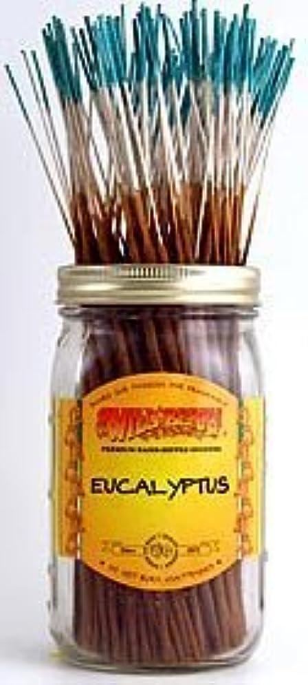 司書変形お父さんEucalyptus - 100 Wildberry Incense Sticks [並行輸入品]