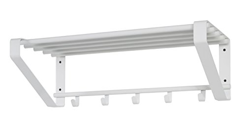 Haku Möbel Armadio, Acciaio, Bianco, 30 x 65 x 20 cm