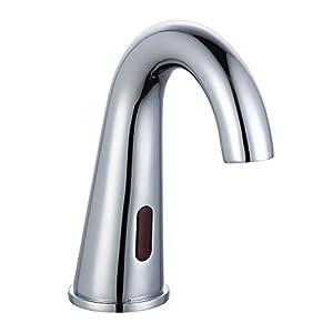 EISL NI075TASSCR TASSONI – Grifo monomando para lavabo (agua fría, con sensor, cromado)