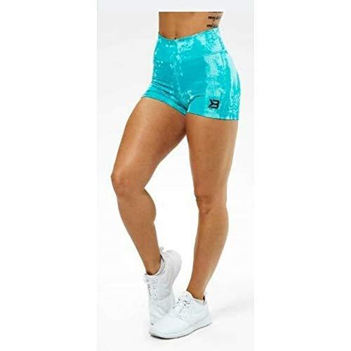 Better Bodies Damen Gracie Hotpants Kurze Hose, türkis, M