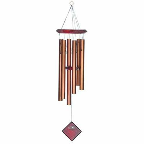 Woodstock DCB27 Encore Collection Bronze Chimes of Pluto Windch