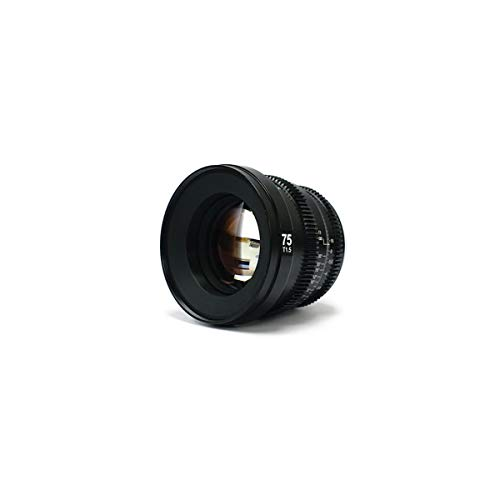 SLR Magic MicroPrime Cine 75mm T1.5 Compatible with Sony E Mount