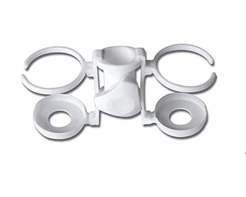 Porta Latas Universal para Sombrilla - Accesorio Regulable 2 Compartimentos