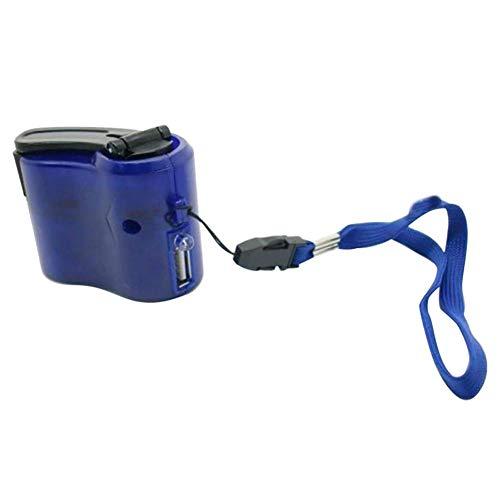 prettygood7 Mini-Handkurbel Power Manueller Generator Reise-Notfall USB-Handy-Ladegerät