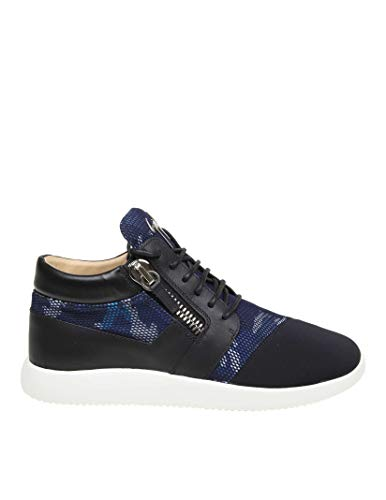 GIUSEPPE ZANOTTI Luxury Fashion Design Mens Sneakers Summer Black