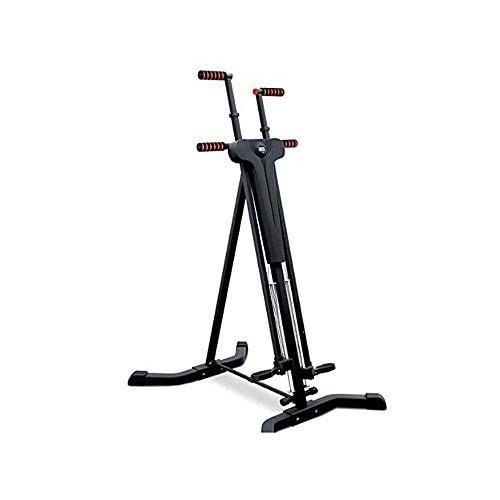 LKNJLL El escalador vertical principal ejercicio de la gimnasia plegable Escalada máquina de la bici de ejercicio for el hogar Body Trainer paso a paso Cardio entrenamiento del entrenamiento antiadher