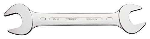 Preisvergleich Produktbild GEDORE Doppelmaulschlüssel 38 x 42 mm,  Hochwertiger Vanadium-Stahl,  Blendfreie Optik,  Nach DIN 3110,  Silber