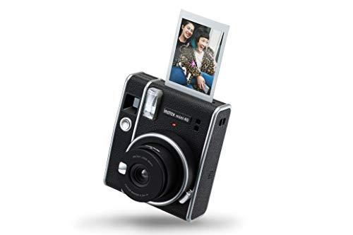 Fujifilm instax mini 40 Fotocamera istantanea per foto formato mini, carta di credito, Modalità selfie incorporata, Esposizione automatica, Dimensioni stampa 54 x 86 mm