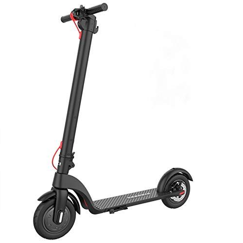 """GRUNDIG E-Scooter Elektroroller, Faltbarer Elektro Scooter Roller für Erwachsene und Jugendliche mit 10""""luftgefüllten Reifen 350W Motor 6.4Ah Wechselbatterie, Höchstgeschwindigkeit bis zu 25 km/h"""