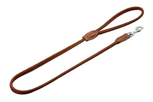 Karlie 09276 Leine Buffalo, rund L: 110 cm B: 6 mm braun