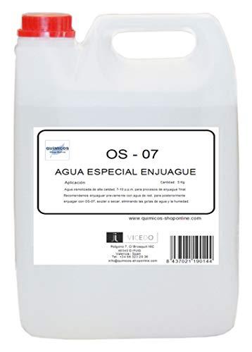 OS 07 5L) Agua DESIONIZADA, para ENJUAGUES Especiales. Electronica