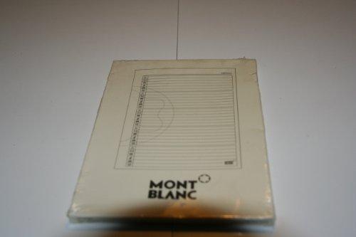 Elfenbein Montblanc Notizbücher