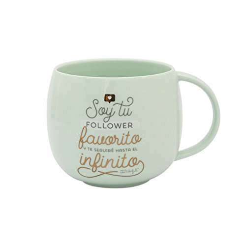 Mr. Wonderful Taza con mensaje