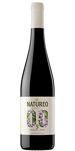 Natureo Syrah, Vino Tinto desalcoholizado - 750 ml