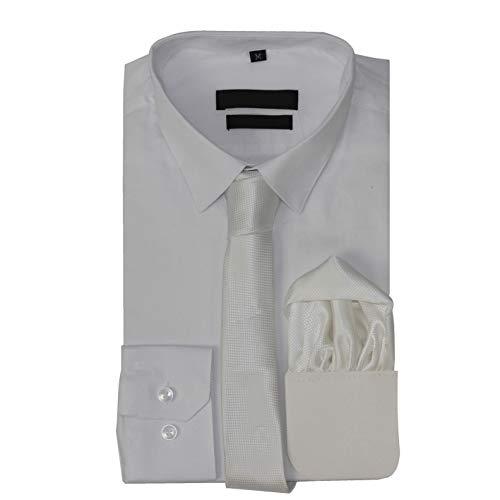 Xposed Camisa de vestir clásica de algodón para hombre, ajuste ajustado, con lazo, para regalo, elegante, informal, formal, 22 colores