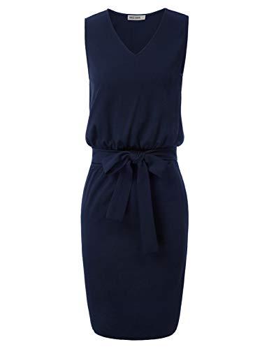 GRACE KARIN Vintage Kleider 50er Jahre Retro Kleid cocktailkleid Damen CL2338-3 XL