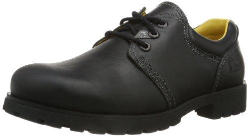 Panama Jack Panama 02, Zapatos de Cordones Brogue para Hombre, Schwarz, 42 EU