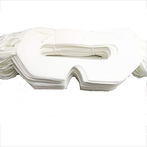 Saidbuds 100 Stück Universal-Einweg-VR-Sanitär abdeckung VR-Abdeckung pads VR-Reinigung pads für HTC Vive, PS VR, Gear VR Oculus Rift, etc.