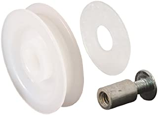 Slide-Co 11112 Screen Door Roller Assembly with Medium Groove and 1-1/4-Inch Nylon Wheel,(Pack of 2)