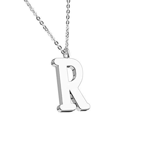 beyoutifulthings halsketting hanger Alphabet INITIALEN ketting dames halsketting sieraden collier roestvrij staal zilver roségoud