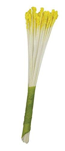 PME Pistilli per Fiori Finti, Giallo, 1 x 1 x 7.4 cm