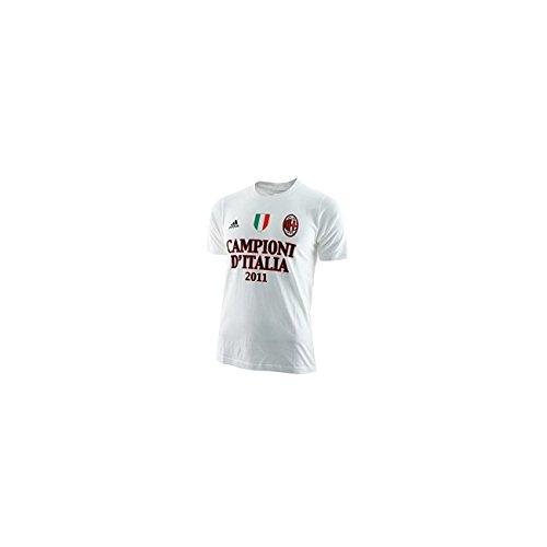adidas Milan Camiseta de los Campeones de Italia en Baby 9-10 años, Blanco