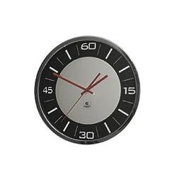 Modern Metal Wall Clock - Mirror Dial